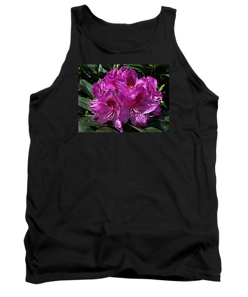 Rhododendron ' Anah Kruschke ' Tank Top by William Tanneberger