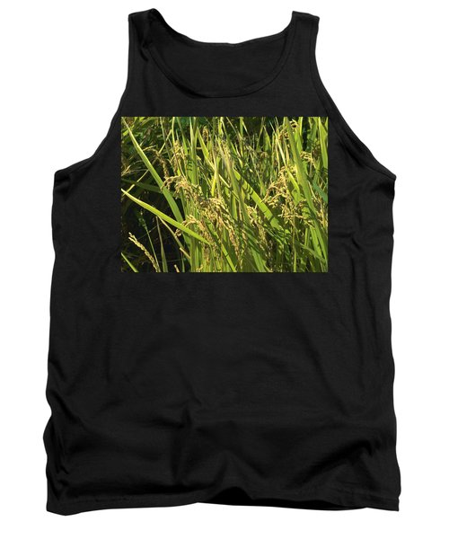 Tank Top featuring the photograph Rice by Rachel Mirror