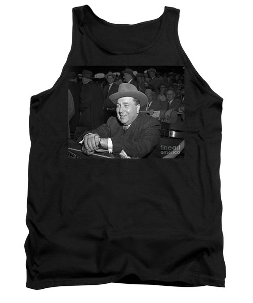 Tank Top featuring the photograph Richard J. Daley 1955 by Martin Konopacki Restoration