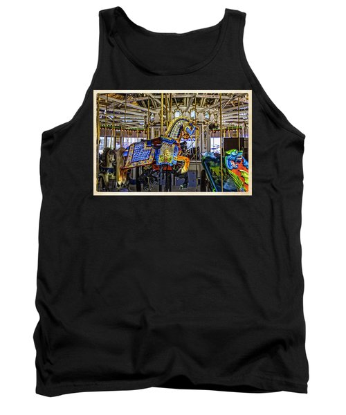 Ride A Painted Pony - Coney Island 2013 - Brooklyn - New York Tank Top
