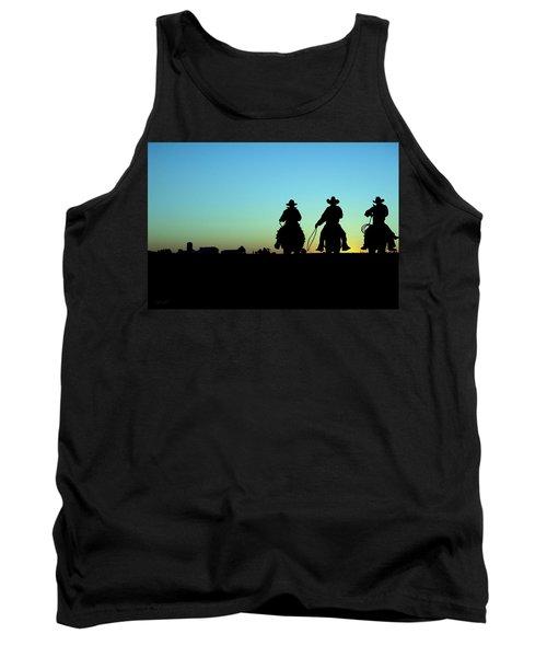 Ride 'em Cowboy Tank Top by Andrea Kollo