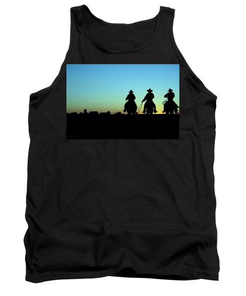 Tank Top featuring the photograph Ride 'em Cowboy by Andrea Kollo