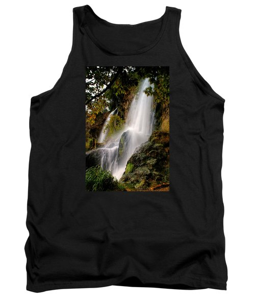 Tank Top featuring the photograph Rifle Falls by Priscilla Burgers