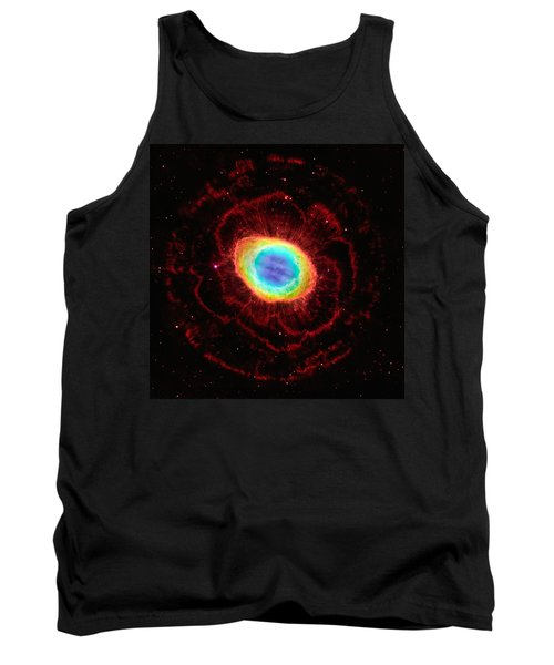 Ring Nebula's True Shape Tank Top