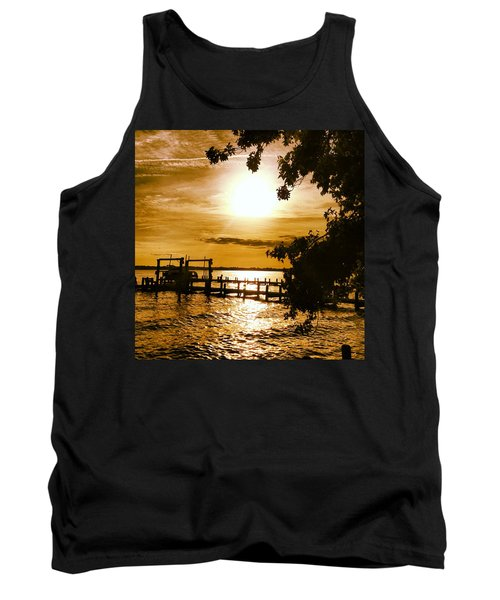 River Acres Jaynes Sunset Tank Top