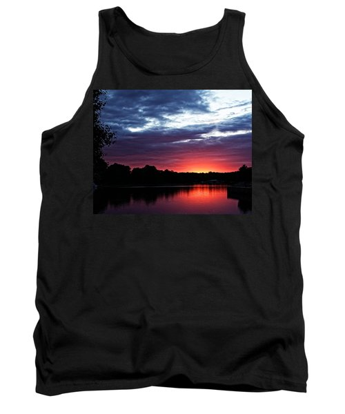 River Glow Tank Top by Dave Files