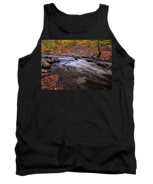 River Of Color Tank Top by Dave Mills