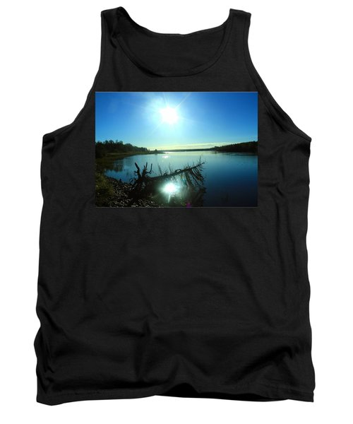Tank Top featuring the photograph River Ryan by Jason Lees