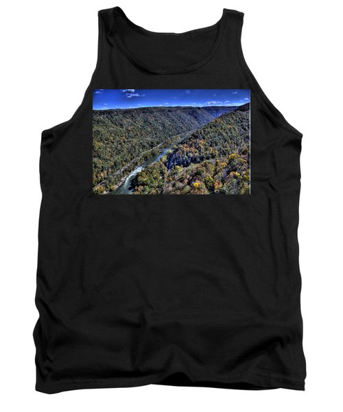 River Through The Hills Tank Top by Jonny D