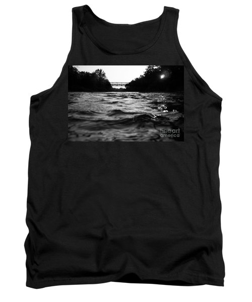 Tank Top featuring the photograph Rivers Edge by Michael Krek