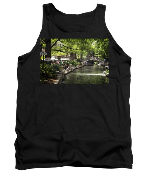 Tank Top featuring the photograph Girl By The Water by Steven Sparks