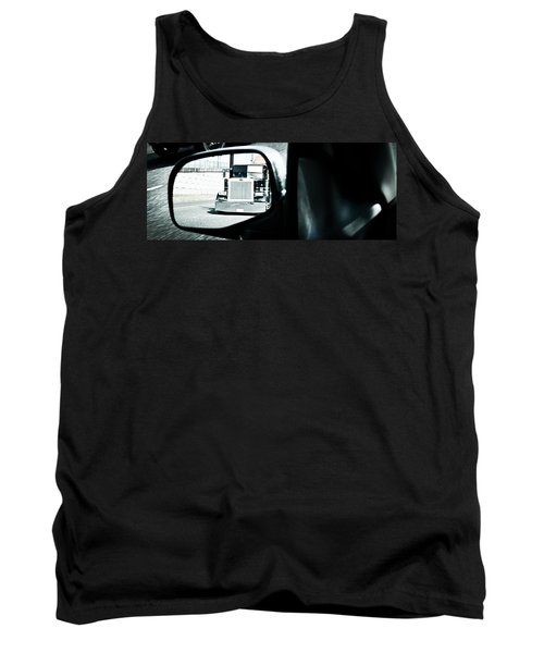 Tank Top featuring the photograph Road Rage by Aaron Berg