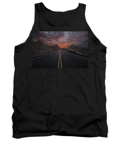Road To Nowhere Badlands Tank Top