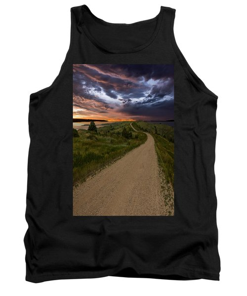 Road To Nowhere - Stormy Little Bend Tank Top