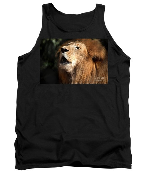 Tank Top featuring the photograph Roar - African Lion by Meg Rousher