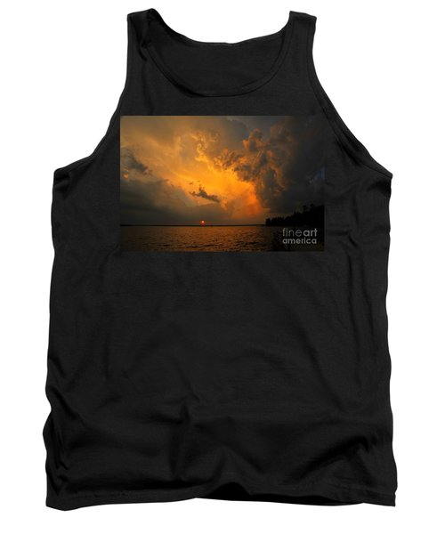 Tank Top featuring the photograph Roar Of The Heavens by Terri Gostola