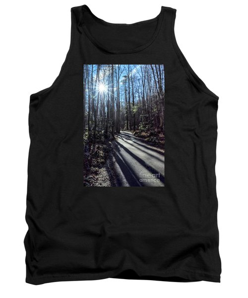 Tank Top featuring the photograph Roaring Fork Road by Debbie Green