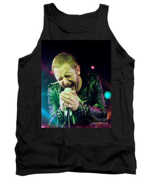 Rob Halford Of Judas Priest Without Flames Effect- Warfield Theater During British Steel-unreleased  Tank Top