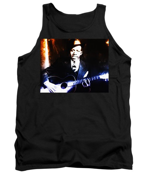 Robert Johnson - King Of The Blues Tank Top