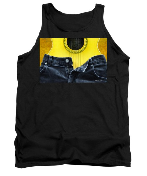 Rock And Roll Woman Tank Top