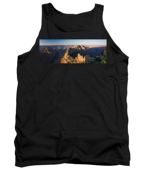 Rock Formations At A Canyon, North Rim Tank Top
