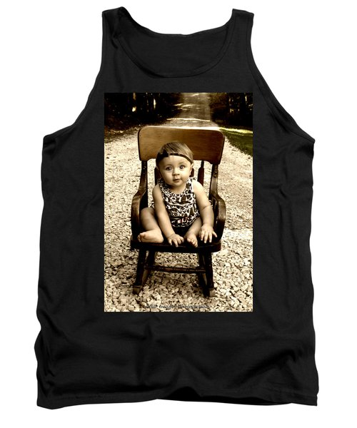 Rocks And Chair Tank Top
