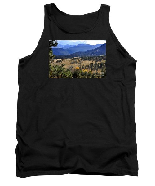 Tank Top featuring the photograph Rocky Mountain Evening by Nava Thompson