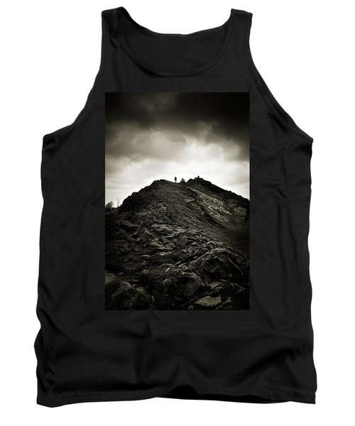 Rocky Pathway To Scotland Tank Top