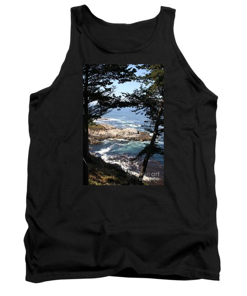 Romantic California Coast Tank Top by Christiane Schulze Art And Photography