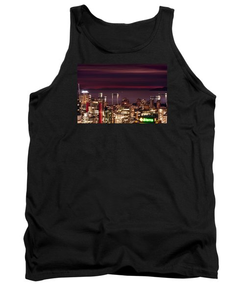 Tank Top featuring the photograph Romantic English Bay Mdcci by Amyn Nasser