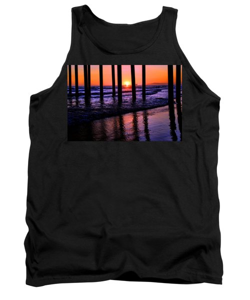 Tank Top featuring the photograph Romantic Stroll by Tammy Espino