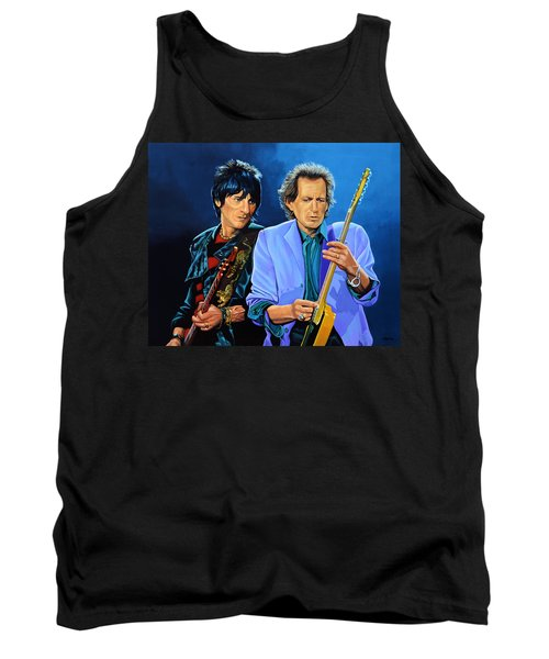 Ron Wood And Keith Richards Tank Top