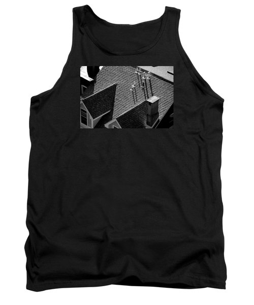 Tank Top featuring the photograph Rooftop by John Schneider