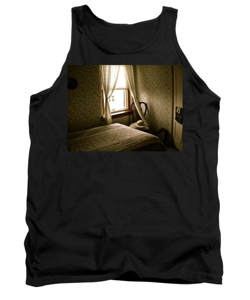 Tank Top featuring the photograph Room301 Irish Inn by Joan Reese