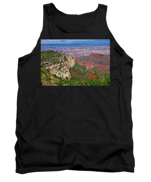 Roosevelt Point Two On North Rim/grand Canyon National Park-arizona   Tank Top by Ruth Hager