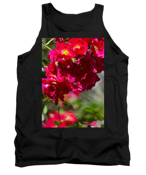 Tank Top featuring the photograph Rose Bouquet by Michele Myers
