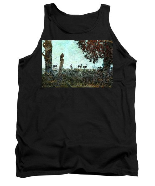 Rose Hill - Autumn Tank Top by Ed Hall