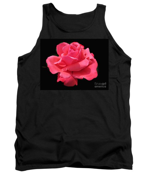 Tank Top featuring the photograph Rose Is A Rose by Judy Palkimas