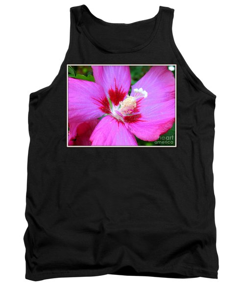Rose Of Sharon Hibiscus Tank Top by Patti Whitten