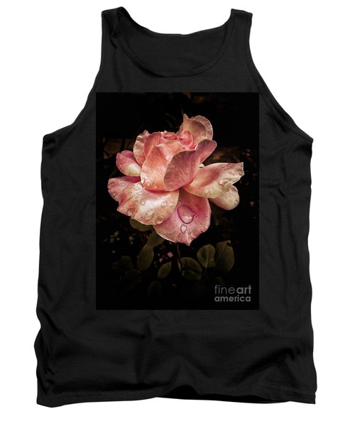 Rose Petals With Raindrops Tank Top