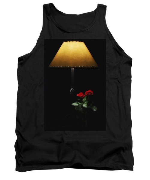 Roses By Lamplight Tank Top