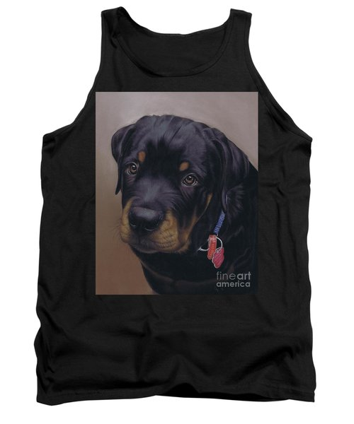 Rottweiler Dog Tank Top
