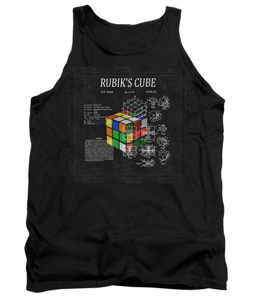 Rubik's Cube Patent 3 Tank Top