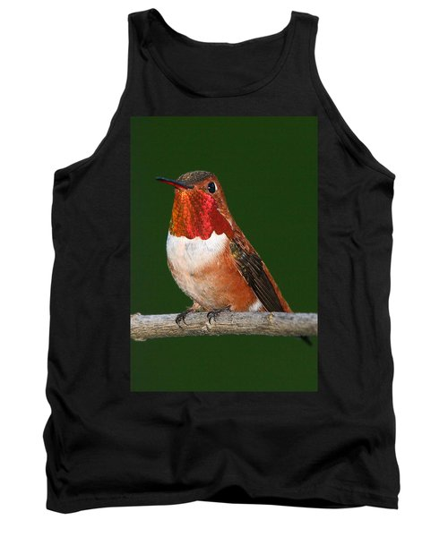 Rufous Hummingbird Tank Top