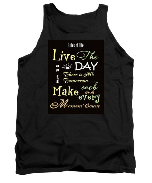 Rules Of Life Tank Top