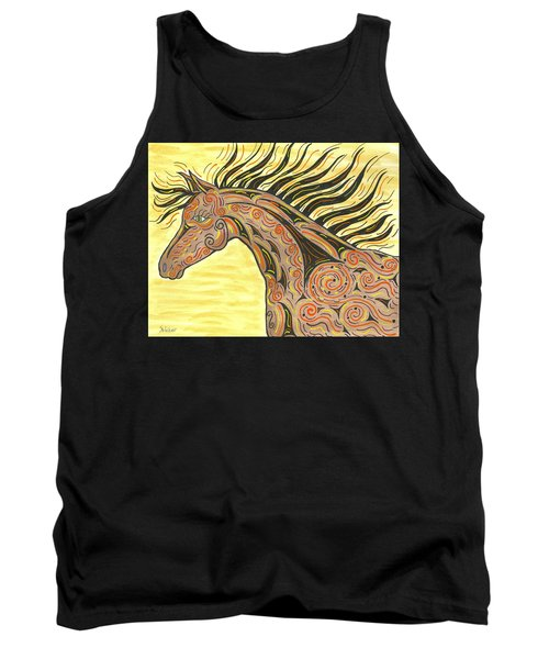 Running Wild Horse Tank Top