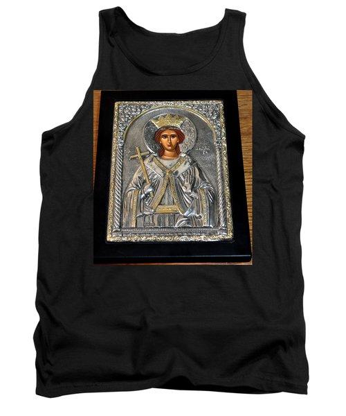 Russian Byzantin Icon Tank Top by Jay Milo