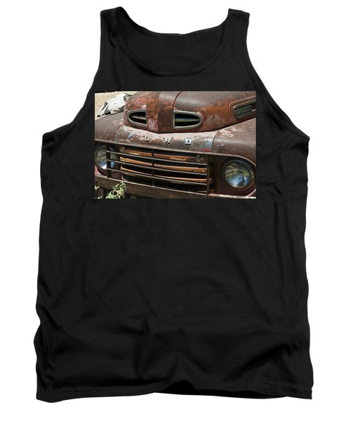 Rusted Ford In Hackberry Tank Top