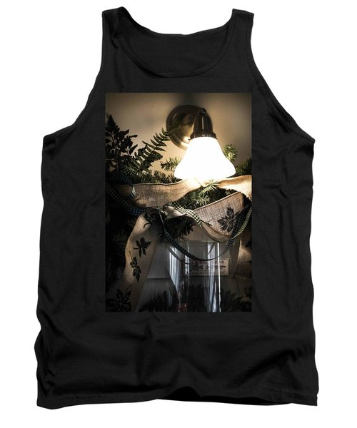 Tank Top featuring the photograph Rustic Holiday by Patricia Babbitt