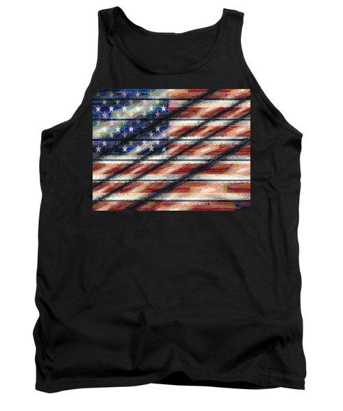 Rustic Usa Tank Top